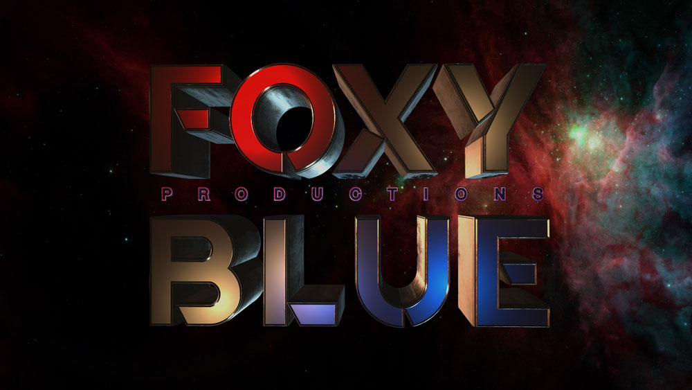 FOXY BLUE Logo Animation